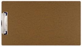 8 1/2 x 14 Hardboard Clipboard