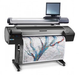 "HP Z5600 44"" Printer with 36"" Scanner Dual Roll - Multi-Function - Print/Copy/Scan System"