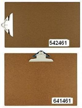 11 x 17 or 17 x 11 Hardboard Clipboards