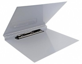 17 x 11 Aluminum Clipboard w/Fold Over Cover