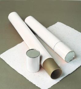 4 inch White Telescoping Mailing/Storage Tube