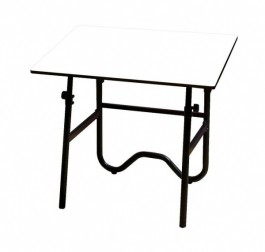"Alvin Onyx 24"" x 36"" Fold-Away Drafting-Height Table"