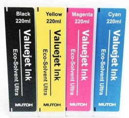 Mutoh Eco Solvent inks for 1324X