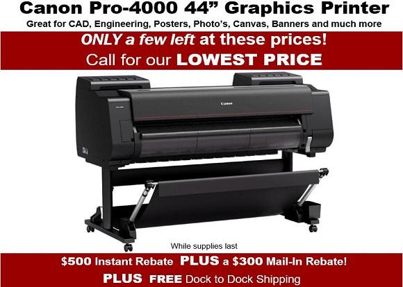 Canon Pro4000