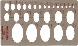 Pickett Isometric Ellipse Template 1264I