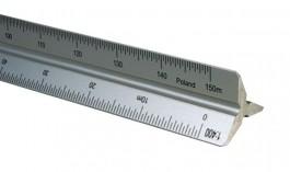 Metric Aluminum Triangular Scales
