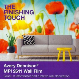 Avery Dennison MPI 2611 Series Wall Film