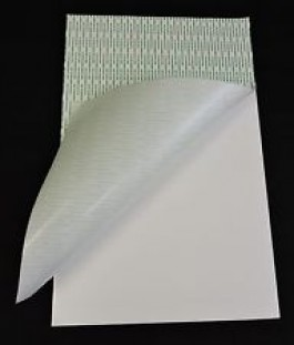"Foamboard 3/16"" White Quick Stik Adhesive Back"