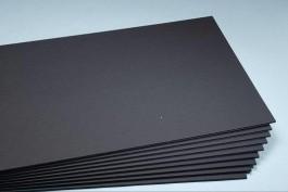 """1/2"""" Black on Black Foam Board 30"""" x 40"""""""