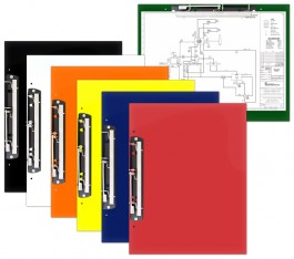 "19 x 13 Acrylic Clipboards With 11"" Hinge Clip"
