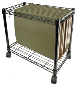 11x17 Mobile Storage Cart