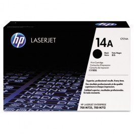 HP 14X (CF214X), HP 14A (CF214A)  Black Original LaserJet Toner Cartridge
