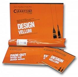 Clearprint 1000H 8x8 Grid Vellum Pads