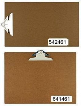 11 x 17 or 17 x 11 Hardboard Clipboards