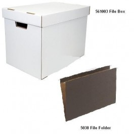 11 x 17 File Box and Folders