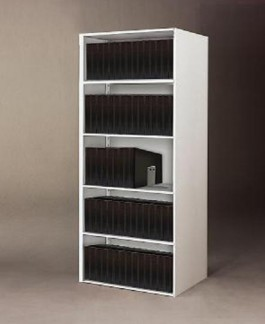 Upright Steel Shelving Unit for 11 x 17 Binders