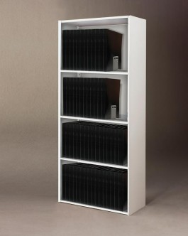 Upright Steel Shelving Unit for 17 x 11 Binders