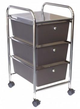 Alvin 3- Drawer Mobile Storage Cart