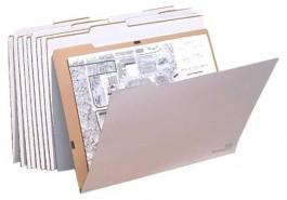 AOS Corrugated File Folders- V Folders