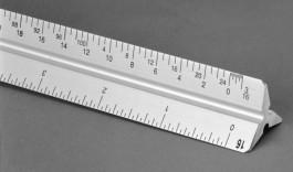 Aluminum Triangular Scales