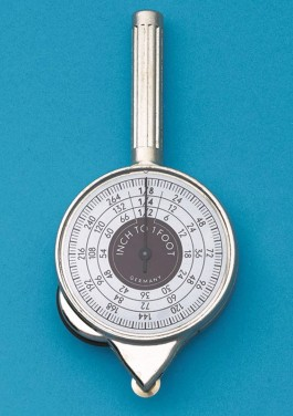 Two-Face Inch Counter Plan/Map Measure