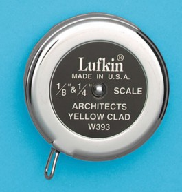 Lufkin W393 Estimator's Pocket Tape