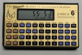 Jobber 6 Professional Construction Calculator