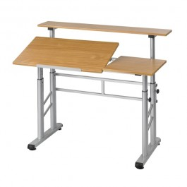 Safco Height Adjustable Split-Level Drafting Table