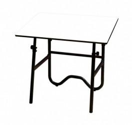 "Alvin Onyx 24"" x 36"" Fold-Away Drafting-Height Table"