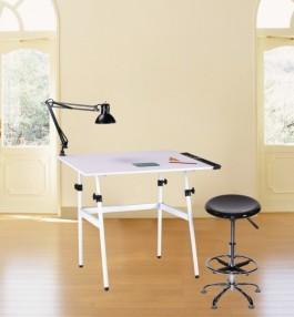 Berkeley 4-piece Premier Combo-Table, Stool, Lamp & Tray