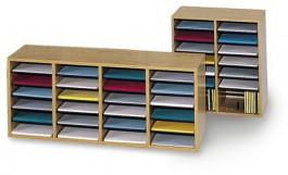 Adjustable Shelf Literature Organizers