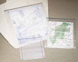 Clear Vinyl Drawing Covers/Envelopes