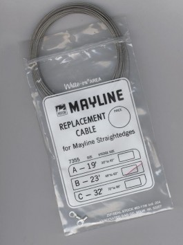 Mayline Replacement Straight Edge Cable & Mounting Kits