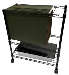 Large 11x17 Mobile Filing/Storage Cart