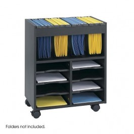 Safco Mobile File Cart