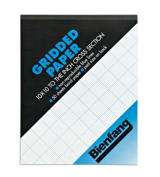 bienfang grid paper 4 x 4 8 x 8 10 x 10 grids