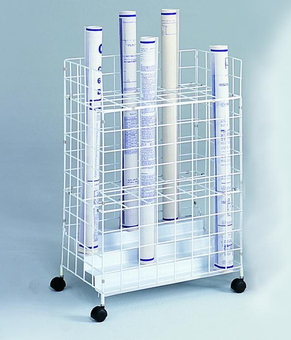 Safco 24 Bin Wire Roll File - GS Direct, Inc.