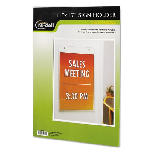 11 x 17 clear plastic document holder wall mount gs direct inc 11 x 17 clear plastic document holder wall mount malvernweather Images