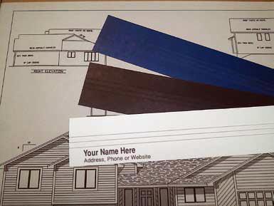 Custom binding strips